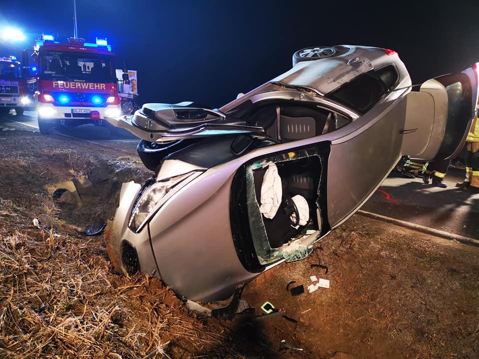 Verkehrsunfall zwischen Stirpe und Norddorf
